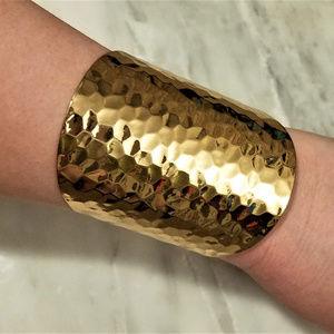 Jewelry - Gold Textured Cuff Bracelet